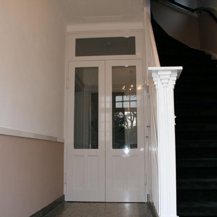 Wanden deuren en lambrisering for Jaren 30 stijl interieur